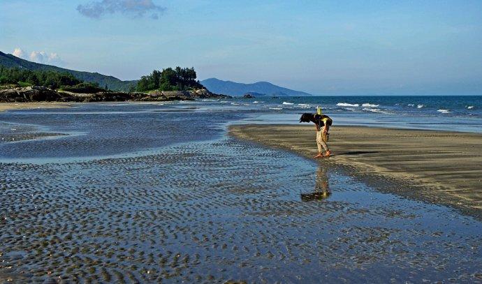 盐洲岛的海滩有四个,分别是位于西冲的渡头村,湾仔村,盐仓村和杨屋