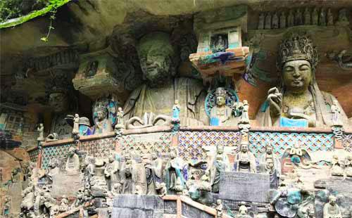 重庆大足石刻旅游
