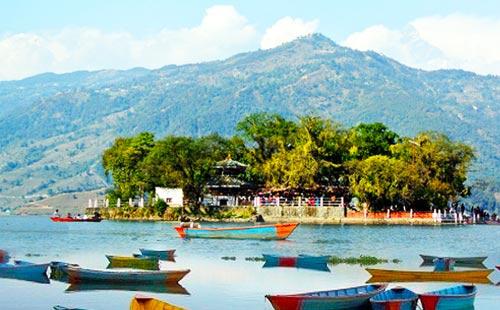 尼泊尔费瓦湖